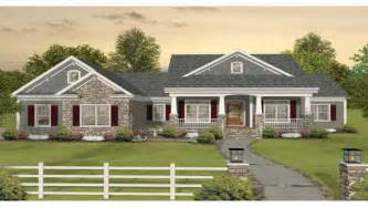 4 bedroom house plans one story craftsman one story ranch house plans one story craftsman