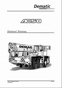 Terex Ac50 Crane Technical Training Manual