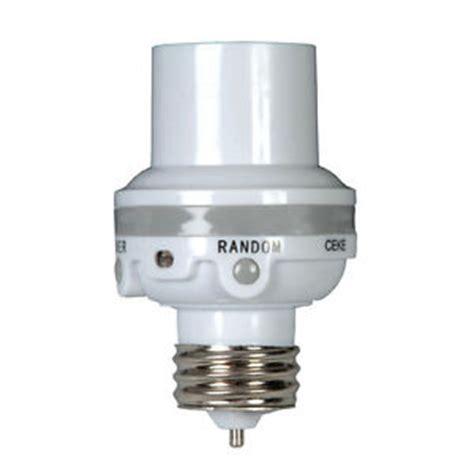 motion sensor light adapter amertac white in light sensor outdoor motion