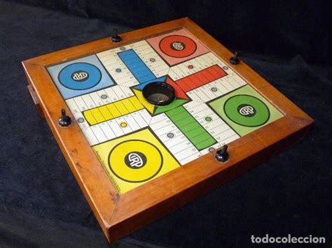 Medidas de las fichas 7x3,5x2cm cartón grueso. antiguo parchis cirp. infansol. años 50 - Comprar Juegos de mesa antiguos en todocoleccion ...