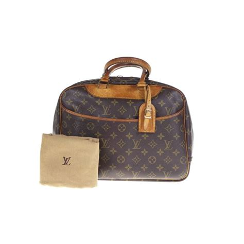louis vuitton deauville monogram handbag  minimum