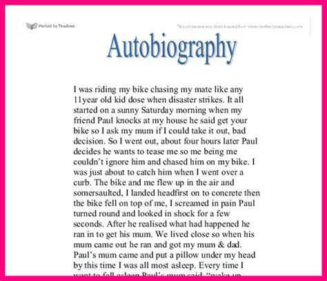 My story of my life essay