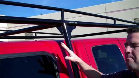series camper shell truck rack youtube