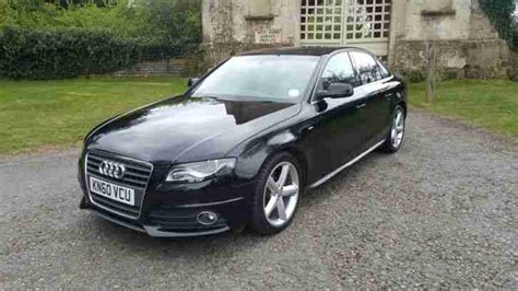 Audi A4 0 To 60 by Audi 2010 60 A4 2 0 Tdi S Line Auto Special Edition Car
