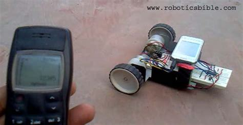 phone controlled robot mobile controlled robot without microcontroller robotics