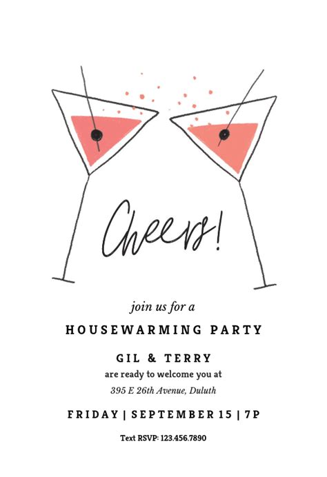 newest  invitation card party suggestions
