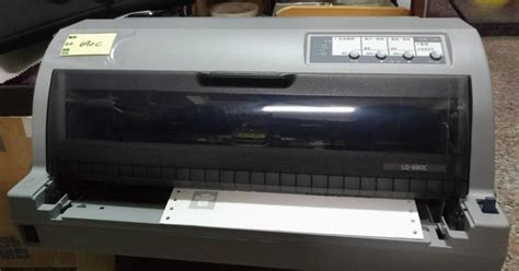 You need to install a driver to use on computer or mobiles. Epson LQ-690C 點陣式印表機 -贈全新色帶*2/訊號線.電源線 | 露天拍賣