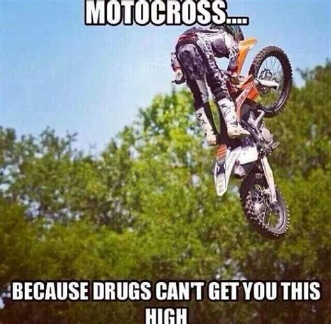 Funny Motocross Memes - difference between dirtbikes and drugs random captions with pictures pinterest jokes this