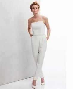 Hosenanzug Als Hochzeitsgast : jumpsuit brautkleid f r das standesamt die sch nsten kleider f r ~ Frokenaadalensverden.com Haus und Dekorationen