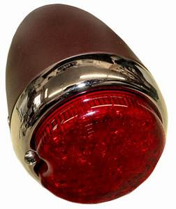 Chevy Parts  U00bb Led Tail Light Assembly Left  3 U0026quot  Round