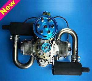 Aliexpress Com   Buy Dle200 Dle 200cc Gasoline Engine For Paramotor   Premium Muffler Version