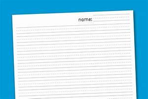 6 Best Images Of Free Printable Handwriting Paper