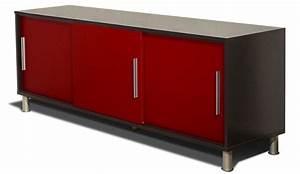 Buffet Vintage Pas Cher : buffet bas rouge ~ Teatrodelosmanantiales.com Idées de Décoration
