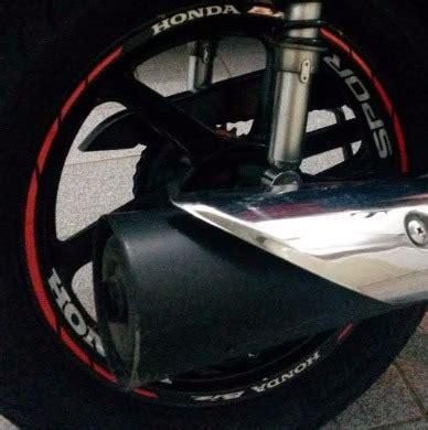 friso refletivo adesivo roda interno moto honda biz 100 125 r 120 48 em mercado livre