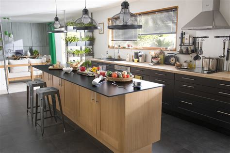 cuisines blanches modèle de cuisine avec ilot central 2017 avec cuisine