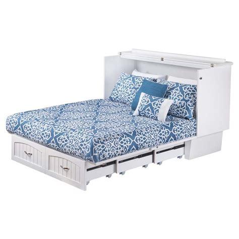 atlantic furniture nantucket murphy bed chest in