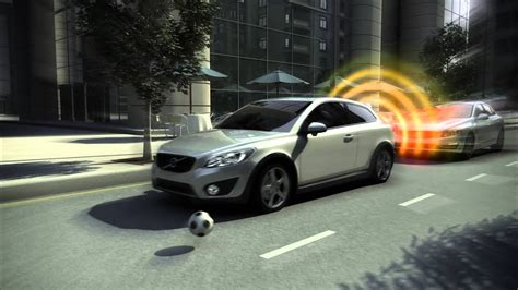 volvo city safety overview youtube