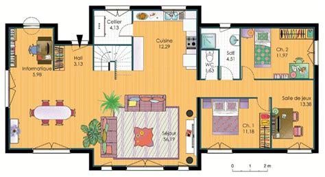 les chambres d une maison plan d 39 une maison d 39 habitation a 3 chambres maison moderne