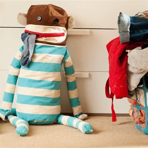 sock monkey laundry bag    brighton beautiful notonthehighstreetcom