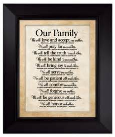 christian gift baskets our family large wall plaque lordsart