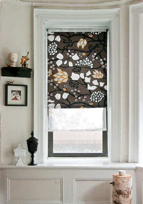 stylish diy roman shades     windows