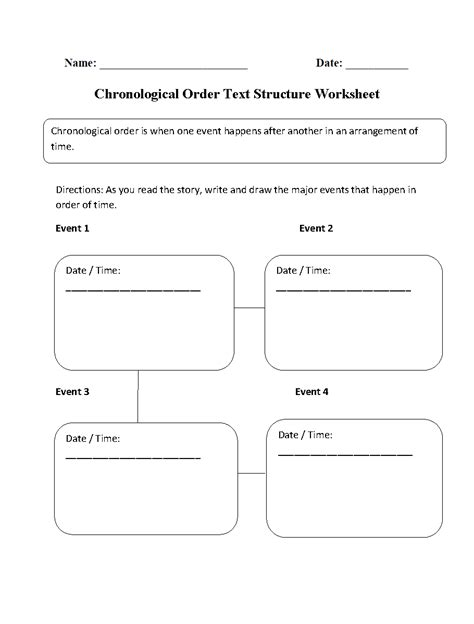 englishlinx text structure worksheets