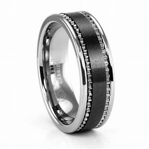 15 best ideas of black male wedding bands With manly mens wedding rings