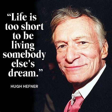 Funny Hugh Hefner Quotes - ShortQuotes.cc