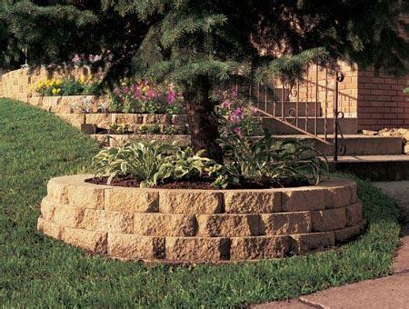 Decorative Brick Retaining Walls