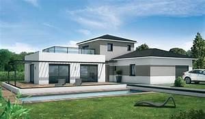 constructeur maison neuve haute garonne villas et With modele de maison en l 2 photos maison darchitecte contemporaine