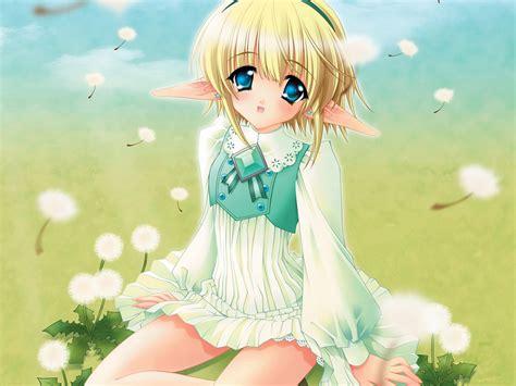 Anime Elfs Images Anime Elf Girl Hd Wallpaper And