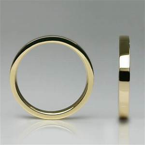 Times square wedding ring in 18 carat yellow gold womens for Wedding rings under 150