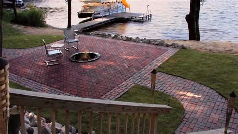 Menards Patio Paver Patterns by Installing Pavers Menards