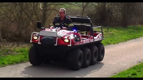 amphibienfahrzeug feuerwehr altenberg youtube