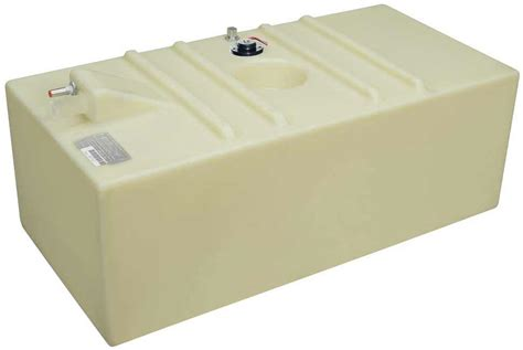 Boat Fuel Tanks Below Deck by 58 Gallon Permanent Below Deck Boat Fuel Tank