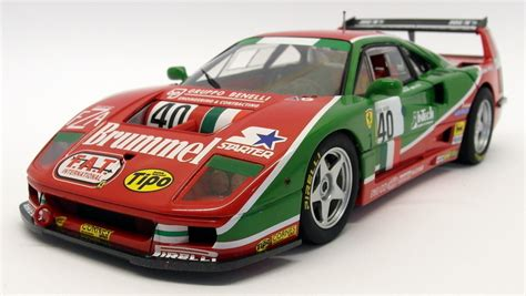 A very fast berlinetta designed by pininfarina, it was built mainly from composites. Hot Wheels 1/18 Scale Diecast - V7427 Ferrari F40 Competizione Le Mans 1995 #40 | eBay