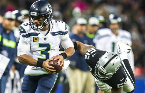 seahawks dominate raiders  london  seattle