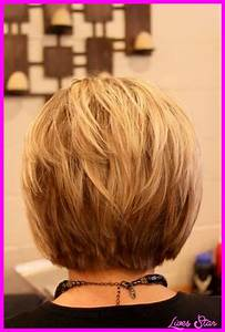 Back view of short hairstyles stacked LivesStar