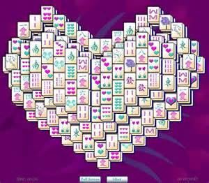 heart mahjong solitaire valentine s day heart mahjong