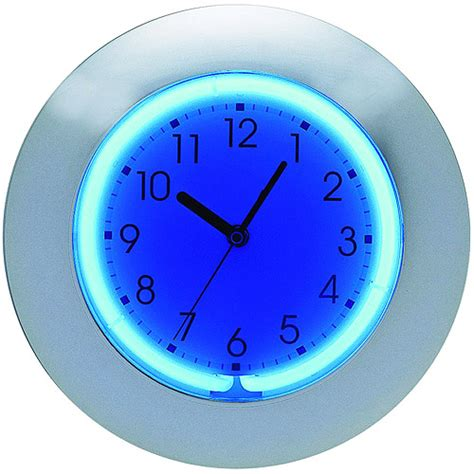 night light wall clock � modern bit of workmanship