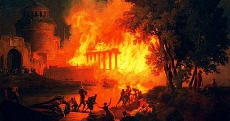 10 Completely Different Views On The Great Fire Of Rome Listverse