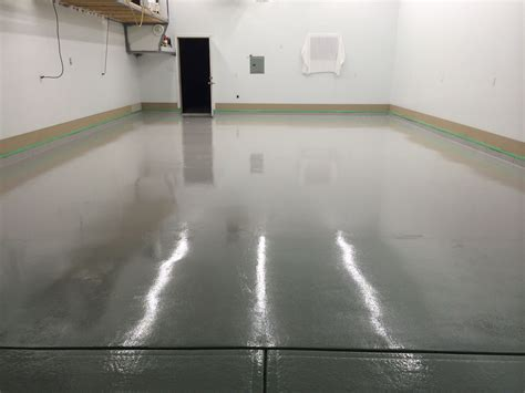 garage floor paint light grey ucoat with ugloss af in light gray epoxy floor gray garage floorcoating ucoat it floor