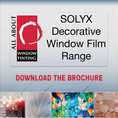 solyx decorative window car window tinting in melbourne