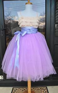 Lilac Lavender Tulle Skirt Maidenlaneboutique