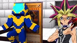 Minecraft YU GI OH NO MINECRAFT MONSTROS E CARTAS