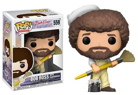Funko Joy Of Painting Funko Pop Television Bob Ross With
