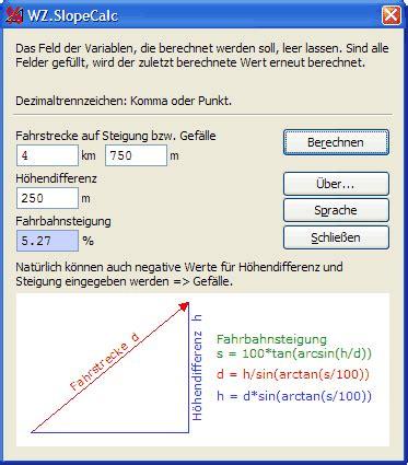 modellbahn steigung berechnen steigung berechnen formel das steigungsdreieck und berechnung der