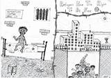 Refugee sketch template