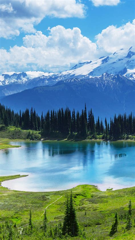 wallpaper moraine lake canada banff national park