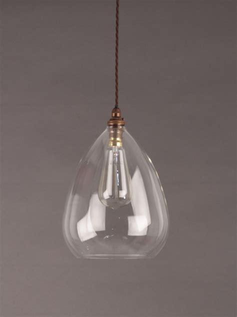 Glass Pendant Lighting by Best 25 Clear Glass Pendant Light Ideas On